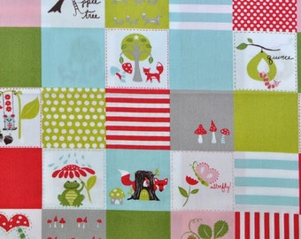 Happy Patch, Fox Hollow Collection by Monaluna Organic Fabrics
