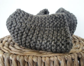 Hand Knit Chunky Scarf