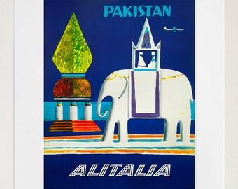 Pakistan Travel Art Sign Wall Decor Poster Print (XR288)