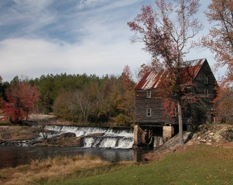 Laurel Mill, print comes in either vertical or horizontal, all sizes