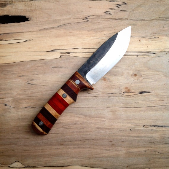 The Woodsman: a Custom Fixed Blade Hunting Knife