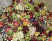 Dried Flowers - Mixed Flower Potpourri - Wedding Toss - Flower Petals - Natural Confetti - Soap, Candle, Craft Supply - Eco Friendly