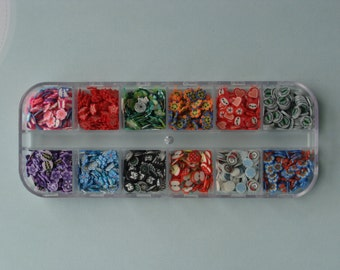 Fimo Nail Art Slices