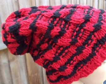 knitted cable chunky hat winter warm hat beanie hat