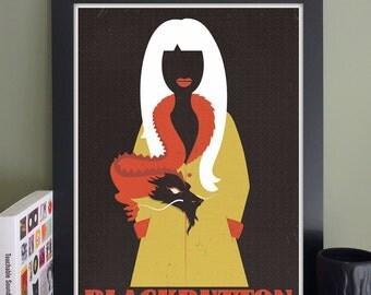 "Blackbutton Gig Poster // TT the Bear's Place, Cambridge, MA 13""x19"""