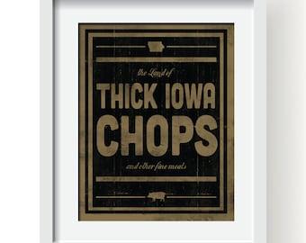 Thick Iowa Chops
