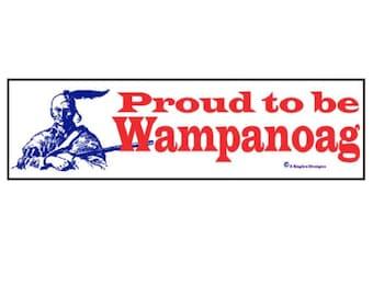 Proud to be Wampanoag