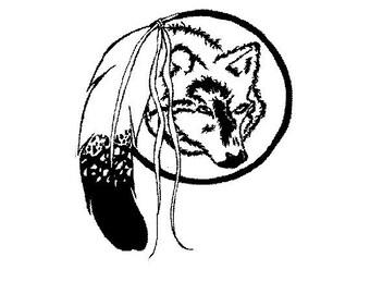 Wolf mandella, shown in Black