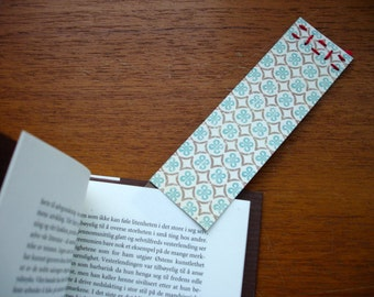 Hand Sewed Bookmarks • FREE Shipping, 4-Bookmark Pack, Bookworm, Hartino HR2