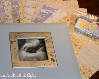 Baby Boy  Memorial Scrapbook Kit