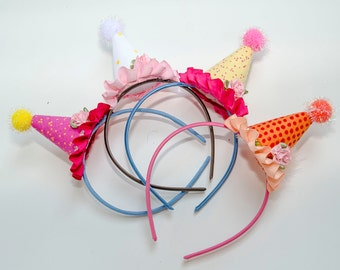 Childrens Miniature Party Hats Set of Four