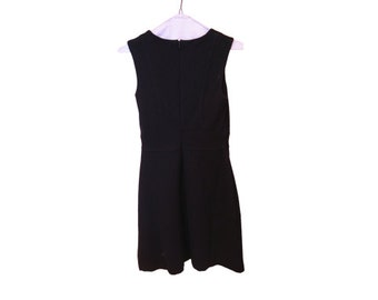 Vintage Dress Navy Blue BANANA REPUBLIC Size 4