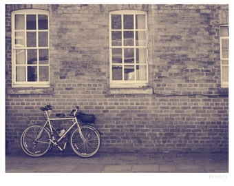 Rural England photograph, fine art photo print, landscape, nature, england, uk, bicycle, rural countryside