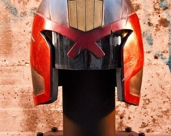 Finished Dredd Helmet