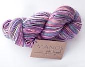 Manos del Uruguay Silk Blend DK Cosmic 100g skeins  Merino Wool &  Silk mix plus scarf pattern