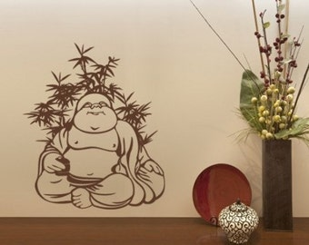 Quite Buddha wall decal, sticker, mural, vinyl wall art