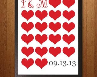 Lots of Love Custom Downloadable Print