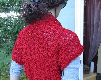 Handmade Lacy Shrug