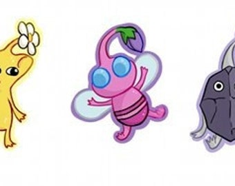 Pikmin sticker set