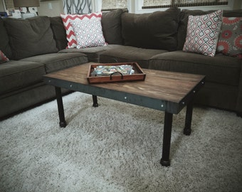 Industrial/Vintage Coffee Table
