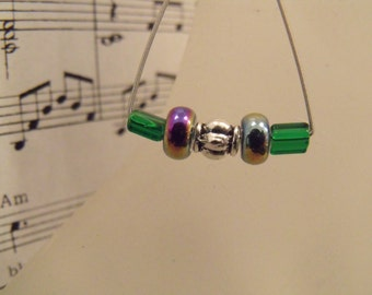 Guitar String Earrings Upcycled Music Jewelry Repurposed