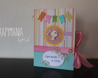 Colorful pregnancy diary