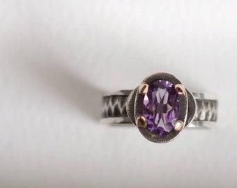 "Ring ""Purple arch"""