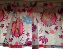 "Anna ~ Elsa Princess Window Valance ~  Matches Celebrate Love Bedding ~ 72"" Wide"