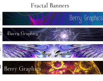 Fractal Single Banners 2