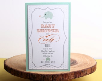 Baby Shower Invitation- look 9