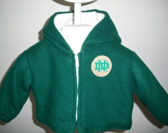 Infant- Size Small Fleece Jacket (I-S 102)