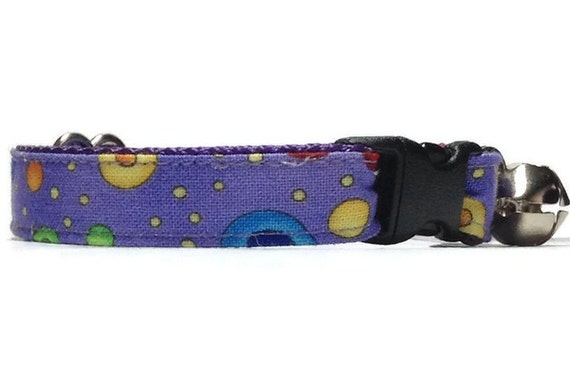 purple cat collars higgins breakaway safety by frankandalans. Black Bedroom Furniture Sets. Home Design Ideas