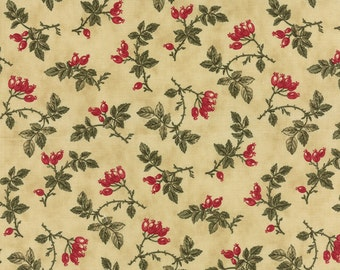 Moda fabric Winterlude 44043-12...Sold in continuous cut 1/2 yard increments