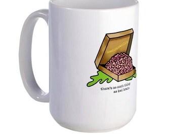 Pizza Brain Alt Mug