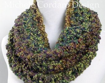 Forest Of Colors Cowl Scarf