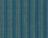 Blue Striped Fabric Reproduction Historical Quilting Cotton Doll Clothes Past Crafts 18th 19th Century