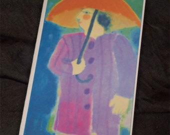 Gertrude blank card