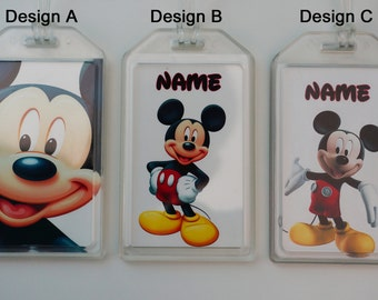 Customized luggage tag/ bag tag/ ID tag of mickey mouse