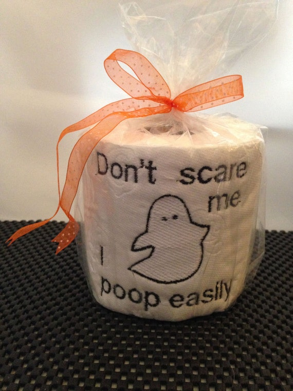 Booty wipes embroidered toilet paper for Design your own toilet paper