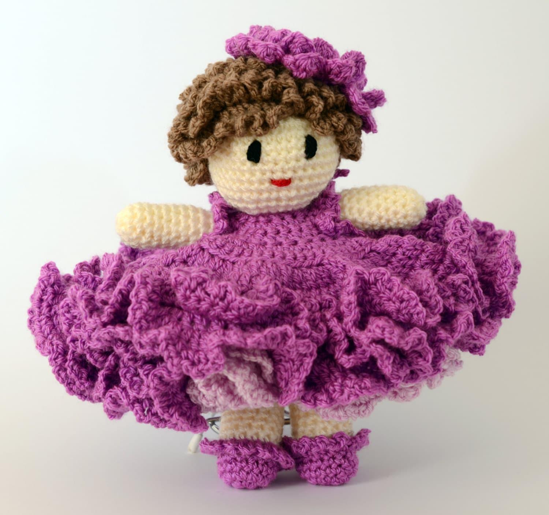 PDF Belinda Crochet Doll download Pattern