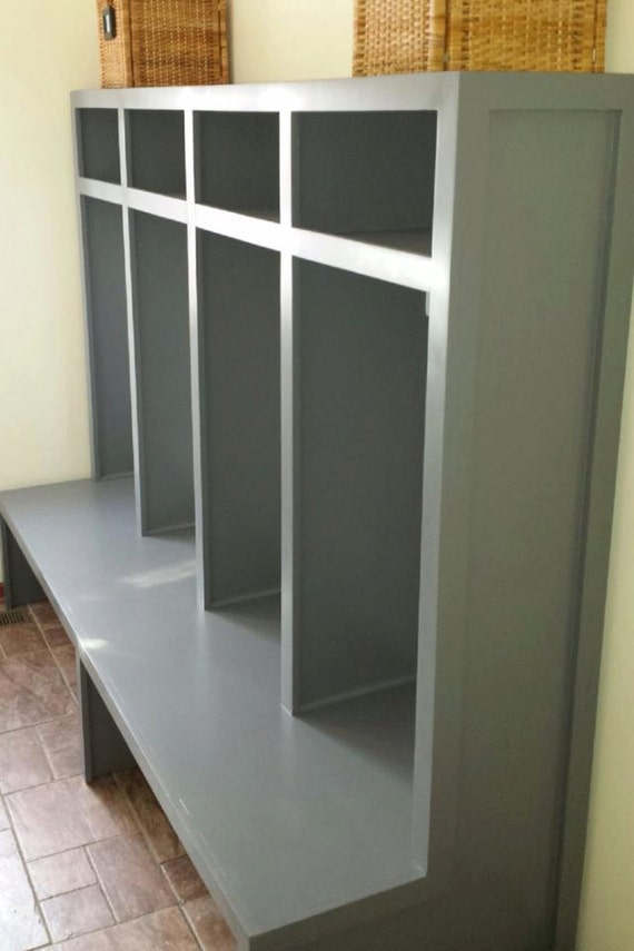 Mudroom Storage Units : Items similar to mud room locker units entry way