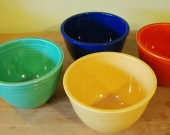 Vintage Fiesta Mixing Bowls Number # 5 Individually Priced