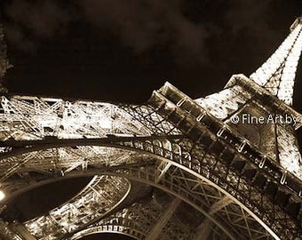 LIMITED EDITION: Eiffel Tower at Night, Paris, France, 2013