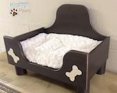 Handmade Cozy Dog Bed* Wooden Dog Bed* Dog Furniture* Dog Bed* Dog Lover gifts* Pet Bed* Pet lover Gifts*