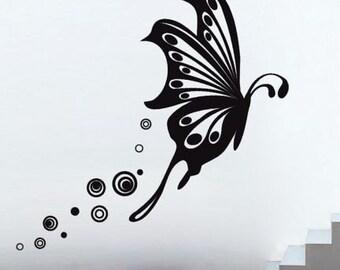 Butterfly Flight Wall Decal