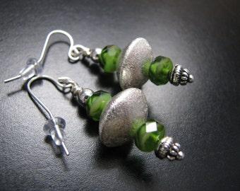 Spaced earrings
