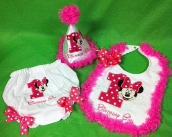 Minnie Mouse Birthday cake smash set