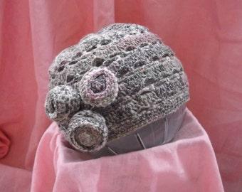 vintage 1920's inspired crochet hat