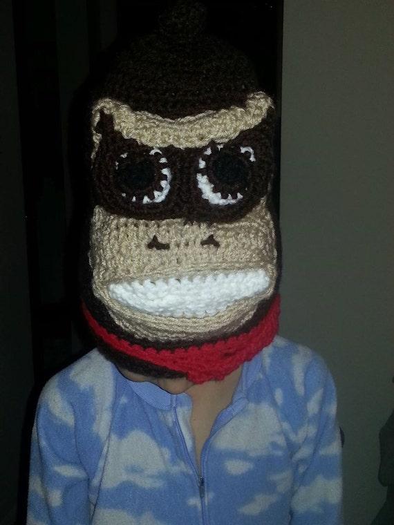 Free Crochet Pattern Donkey Hat : Donkey Kong Style Crochet Hat FREE SHIPPING