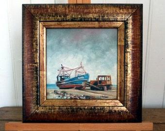 Dungeness Beach (Original Oil Painting)